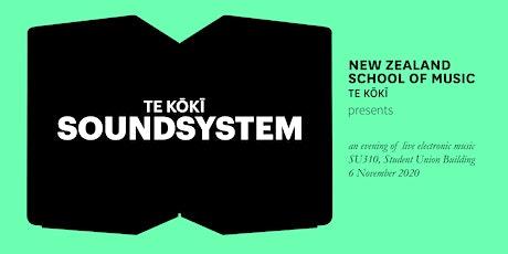 Te Kōkī Sound System: an evening of live electronic music