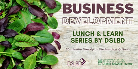 DSLBD Business Development Lunch and Learn Fall 2020 tickets