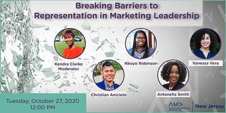 Breaking Barriers to Representation in Marketing Leadership tickets