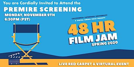 CLU 48 Hour Film Jam Screening: Spring 2020 Short Films tickets