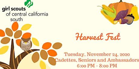 Harvest Fest - Cadettes, Seniors and Ambassadors Tuesday tickets