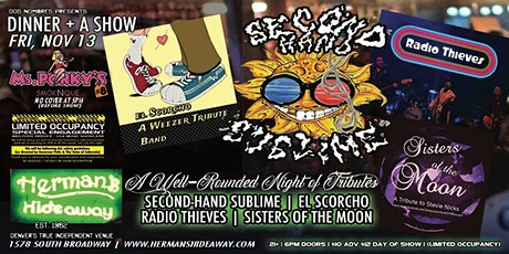 RADIO THIEVES | SECOND-HAND SUBLIME | EL SCORCHO | SISTERS OF THE MOON tickets
