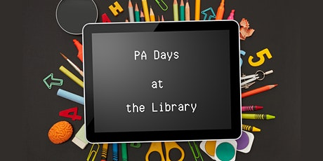 PA Days at the Library (November) tickets
