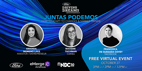 Juntas Podemos: How To Adapt To Changes & Market Trends tickets