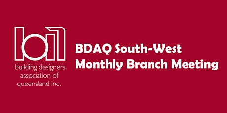 BDAQ South West Branch Meeting - October 2020 tickets