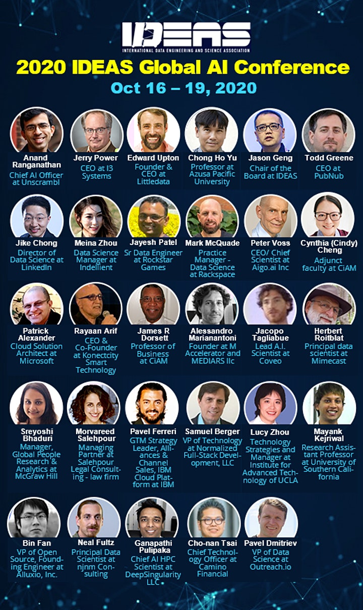 2020 IDEAS Global AI Conference-Online image