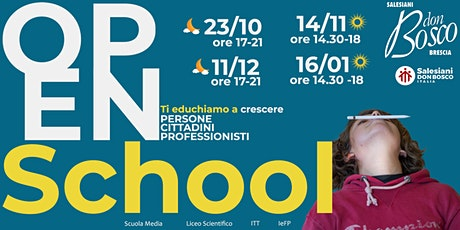 Open school Liceo scientifico biglietti