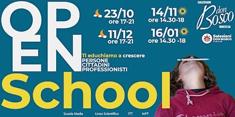 Open school Istituto Tecnico Tecnologico biglietti