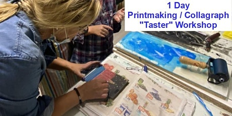 Printmaking / Collagraph Taster Workshop