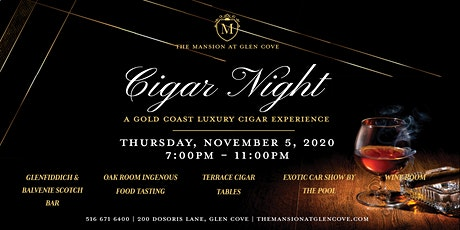 Cigar Night, A Gold Coast Luxury Cigar Experience at The Mansion tickets