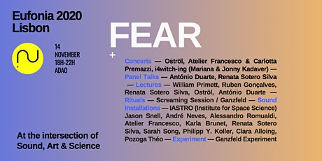 Eufonia Lisbon 2020: Fear tickets