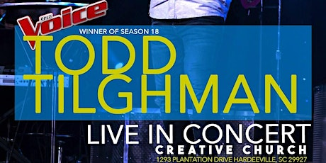 Todd Tilghman LIVE in Concert tickets