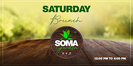 SOMA Garden - Brunch tickets