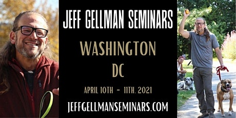 Washington, DC Jeff Gellman's Problem Solving 2 Day Dog Training Seminar tickets
