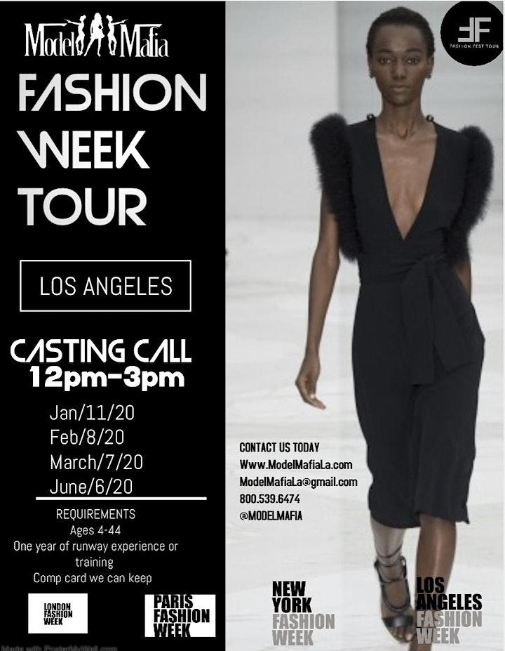 Fashion Week  Tour : Los Angeles Fashion week image
