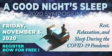 A Good Night's Sleep 2020 Symposium tickets