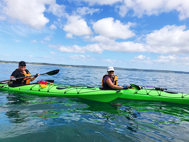 Women's Sea Kayaking Day Trip // Saturday 9th October image
