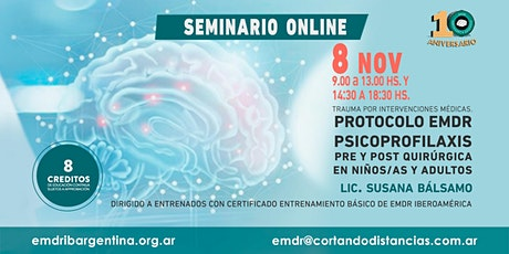 Curso online EMDR: Trauma por intervenciones médicas... entradas