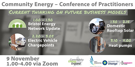 Community Energy – Conference of Practitioners tickets