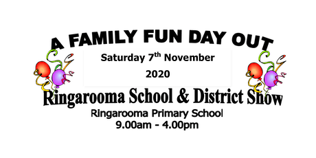 Ringarooma School & District Show tickets