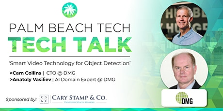 TECH TALK   'Smart Video Technology for Object Detection' (DMG) tickets