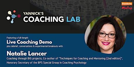 Yannick's Coaching Lab (demo, discussion & practice) w/ Dr. Natalie Lancer tickets