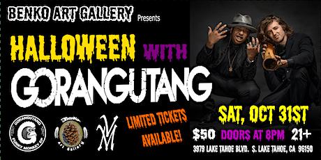 Halloween With Gorangutang tickets