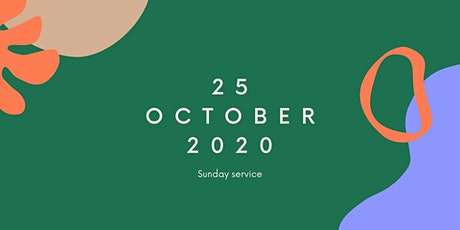 25 October 2020 | Sunday service tickets