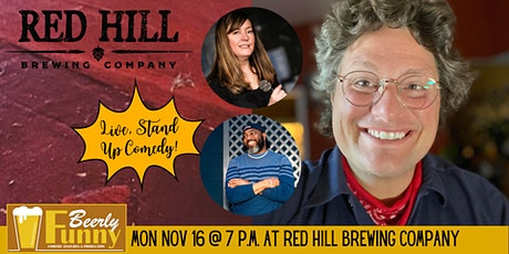 Red Hill Brewing Comedy Night - a Beerly Funny Production tickets