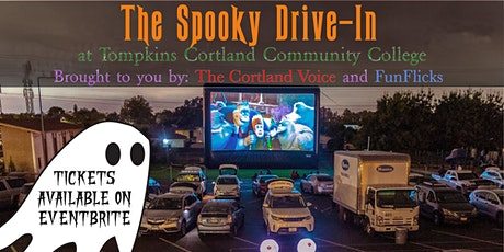 Spooky Drive-in at Tompkins Cortland Community College (Friday October 23) tickets
