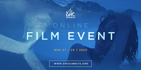 She Summits Online Film Event (Nov 27-29, 2020) tickets