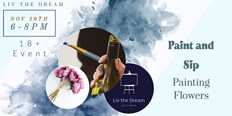 Paint and Sip - Floral Still Life tickets