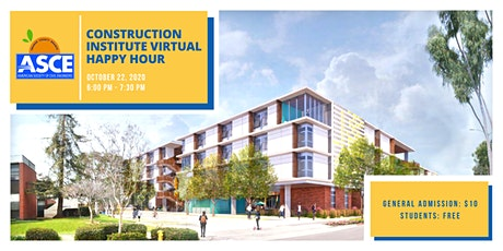 ASCE OC Construction Institute Virtual Happy Hour tickets