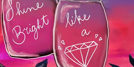 Shine Bright Paint & Sip (In-Studio or Virtual) tickets