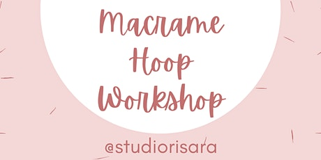 Macrame Hoop Earrings Workshop tickets