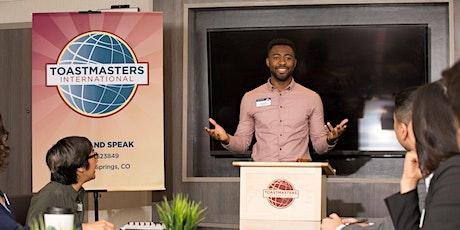 Practice Public Speaking Online - Toastmasters Open House! tickets