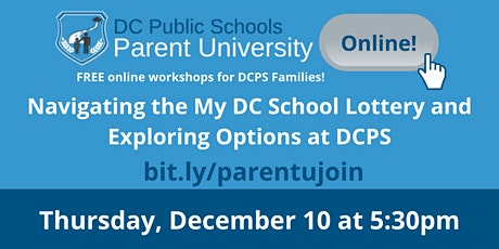 Navigating the My DC School Lottery and Exploring Options at DCPS tickets