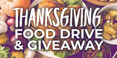 Thanksgiving Food/Turkey Giveaway tickets