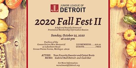 Junior League of Detroit  2020 Fall Fest II tickets