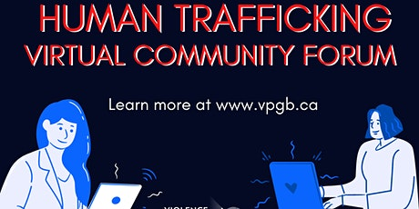 Anti-Human Trafficking Community Forum: Service Provider Session tickets