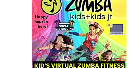 Kid's Virtual Zumba Fitness tickets