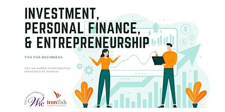 Investment, Personal Finance & Entrepreneurship - Tips for Beginners tickets