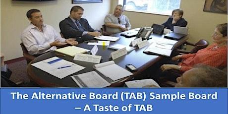 The Alternative Board (TAB) Sample Board - A Taste of TAB tickets