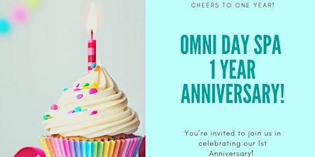 Omni Day Spa One-Year Anniversary! tickets