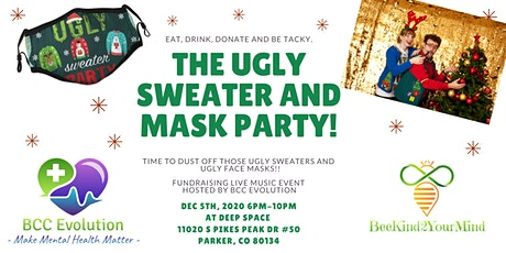 Ugly Sweater & Ugly Mask Live Music Fundraising Event tickets