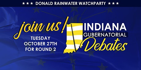 Indy Artsgarden Presents: Rainwater For Indiana Debate Watch Party. tickets