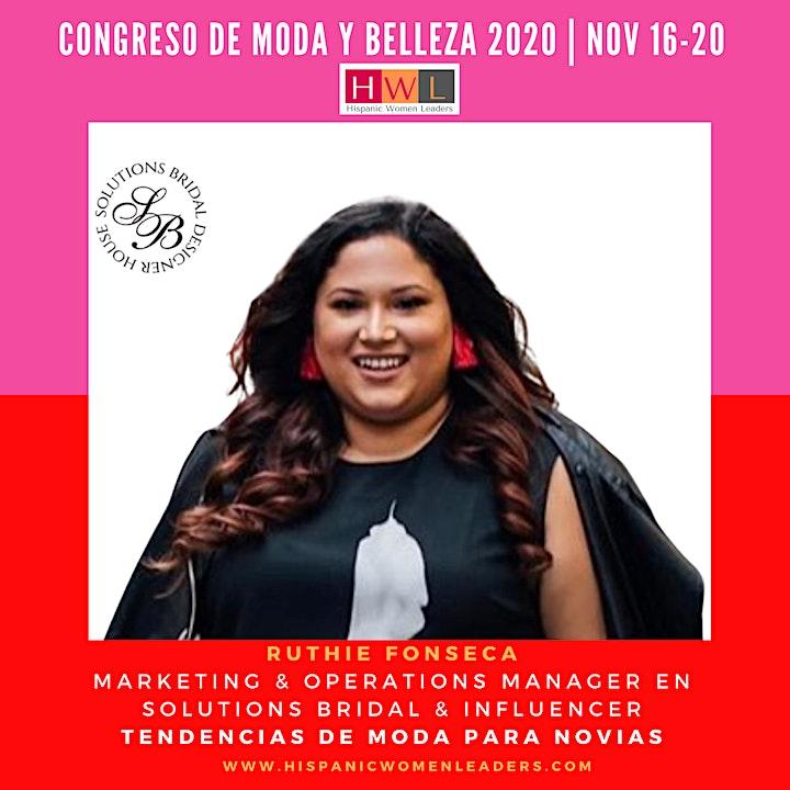 Imagen de Congreso Digital de Moda y Belleza Internacional - Hispanic Women Leaders