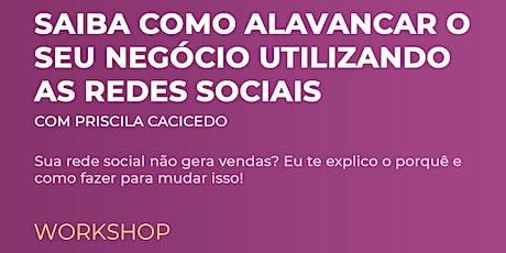 Workshop Redes Sociais - out 2020 ingressos