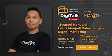 Strategi Konversi Leads Menjadi Sales dengan Digital Marketing tickets