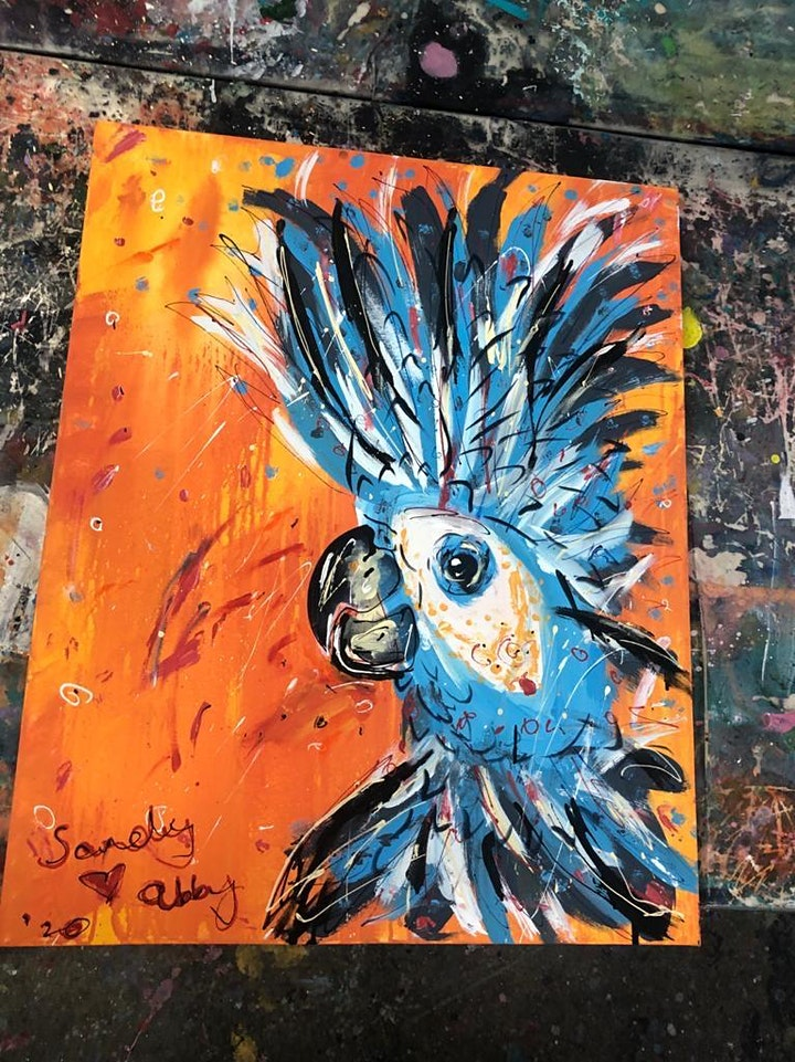 Cheeky Cockatoo Paint and Sip Brisbane 2.4.21 image